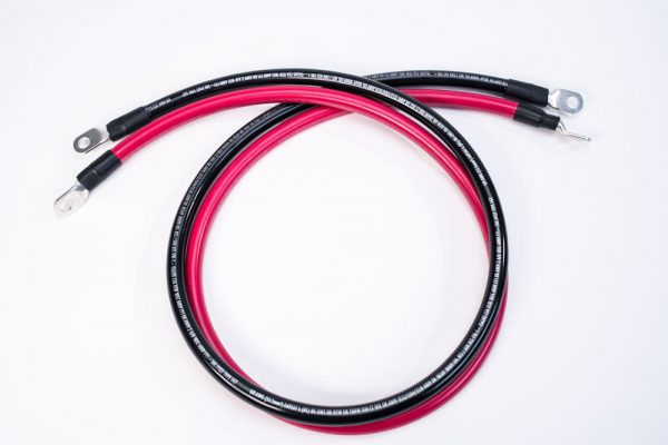 3 foot 1/0 AWG Battery Cable