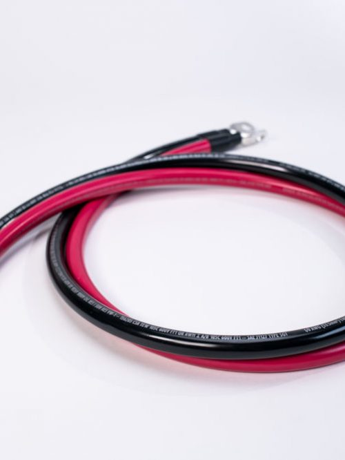 4/0 AWG 5 ft inverter cables