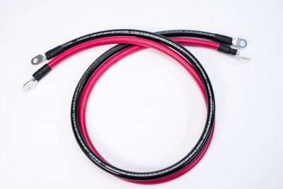 8 foot 1/0 AWG Battery Cable