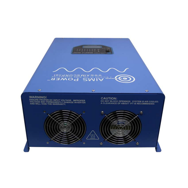 Aims 12KW Inverter Charger Back