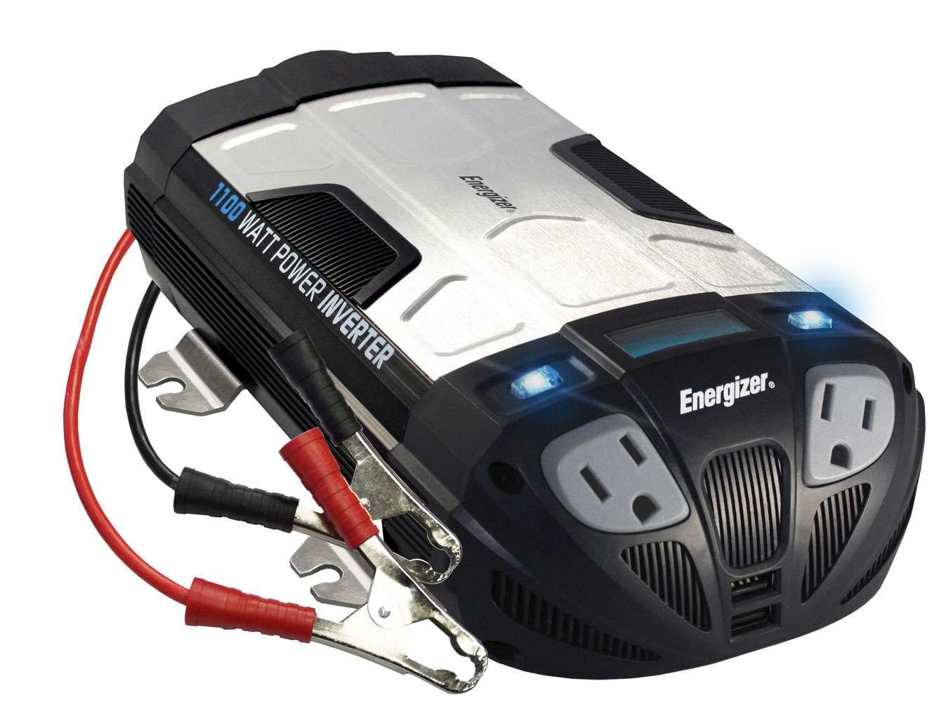 Energizer En1100 1100 Watt 12v Power Inverter Inverters R Us Cotekinverterandbatterybankwiringjpg