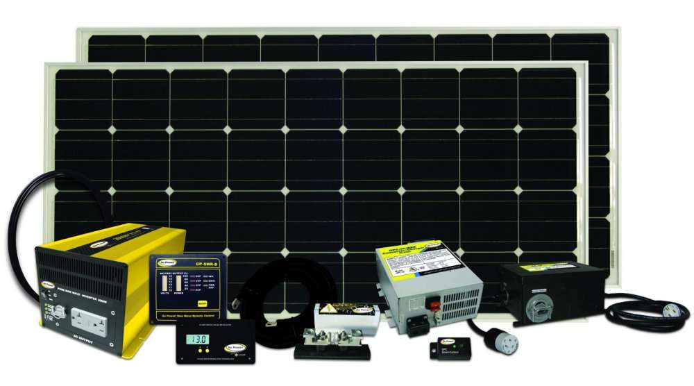 Go Power Solar Elite 320 Watt Solar Charging System