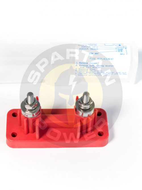 500A Fuse holder and cover