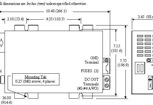 Powermax PM3-100 Diagram
