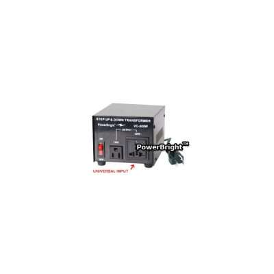 Power Bright VC-500W Voltage Transformer