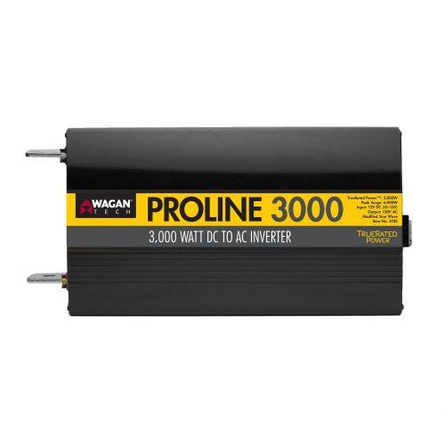 wagan 3742 3000 watt 12v proline power inverter | inverters r us
