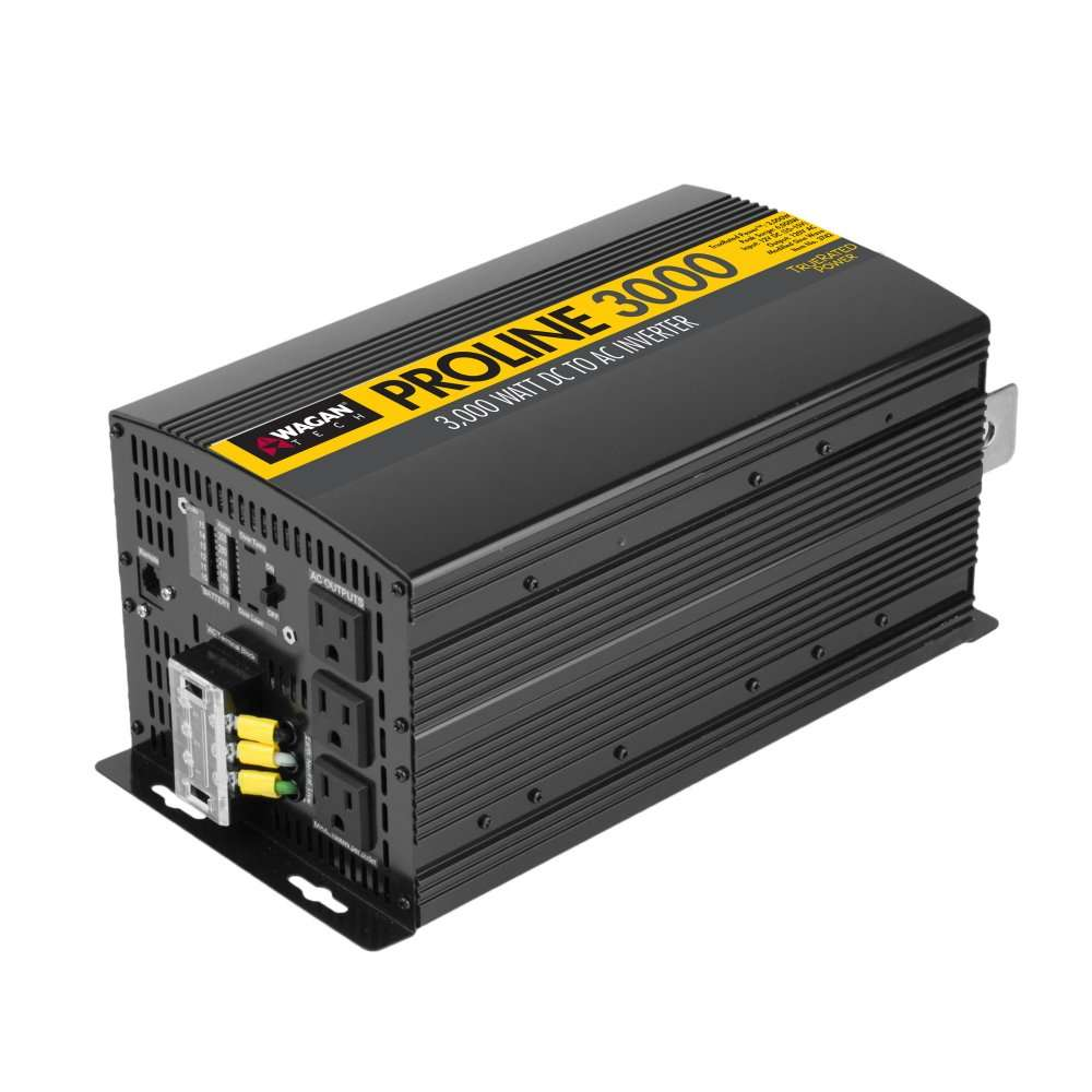 Wagan 3742 3000 Watt 12v Proline Power Inverter
