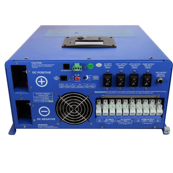 Aims picoglf12kw48v240 inverter charger