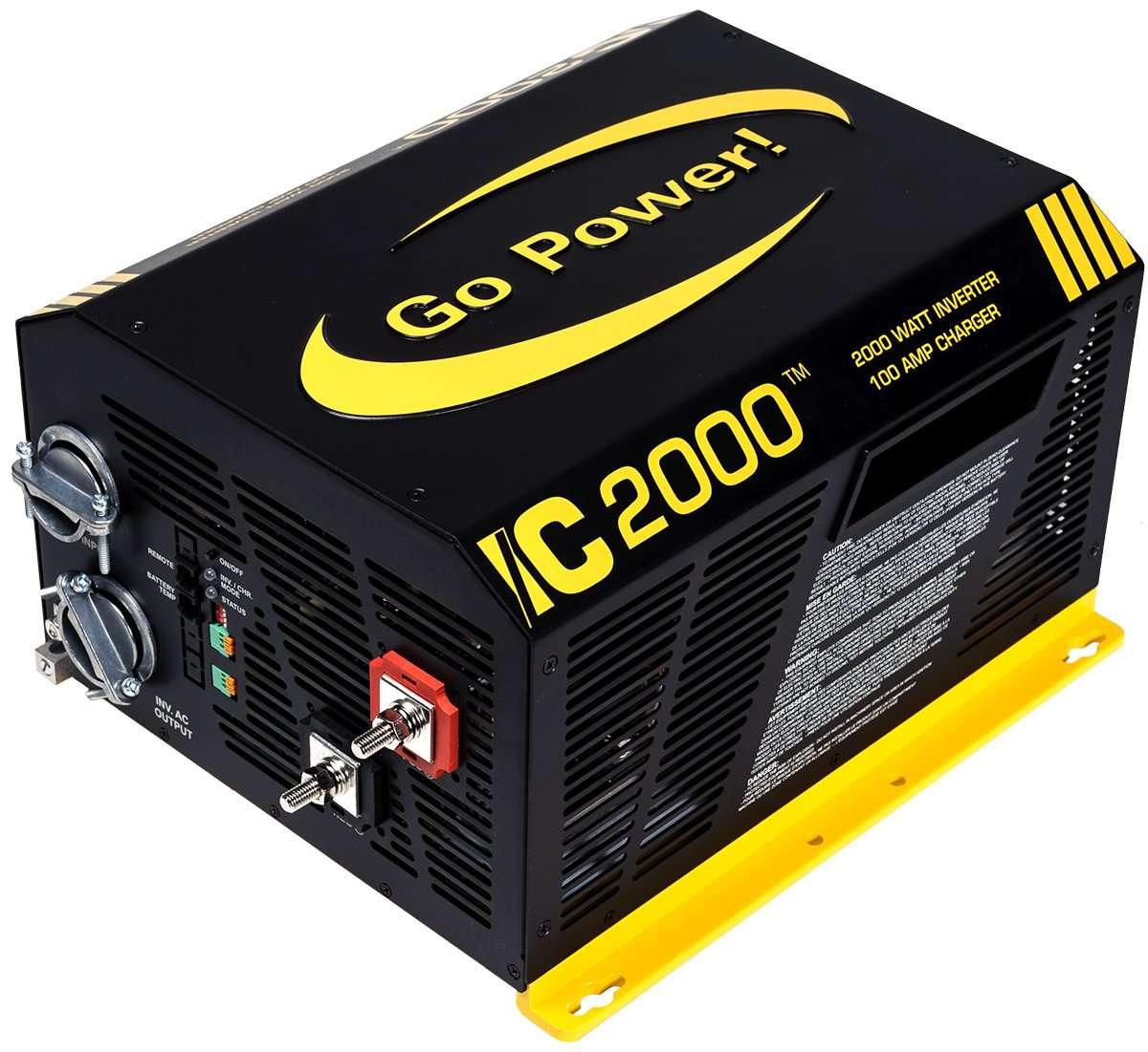 Go Power Gp Ic 2000 12 Watt 12v Inverter Charger Inverters R Us Cotekinverterandbatterybankwiringjpg