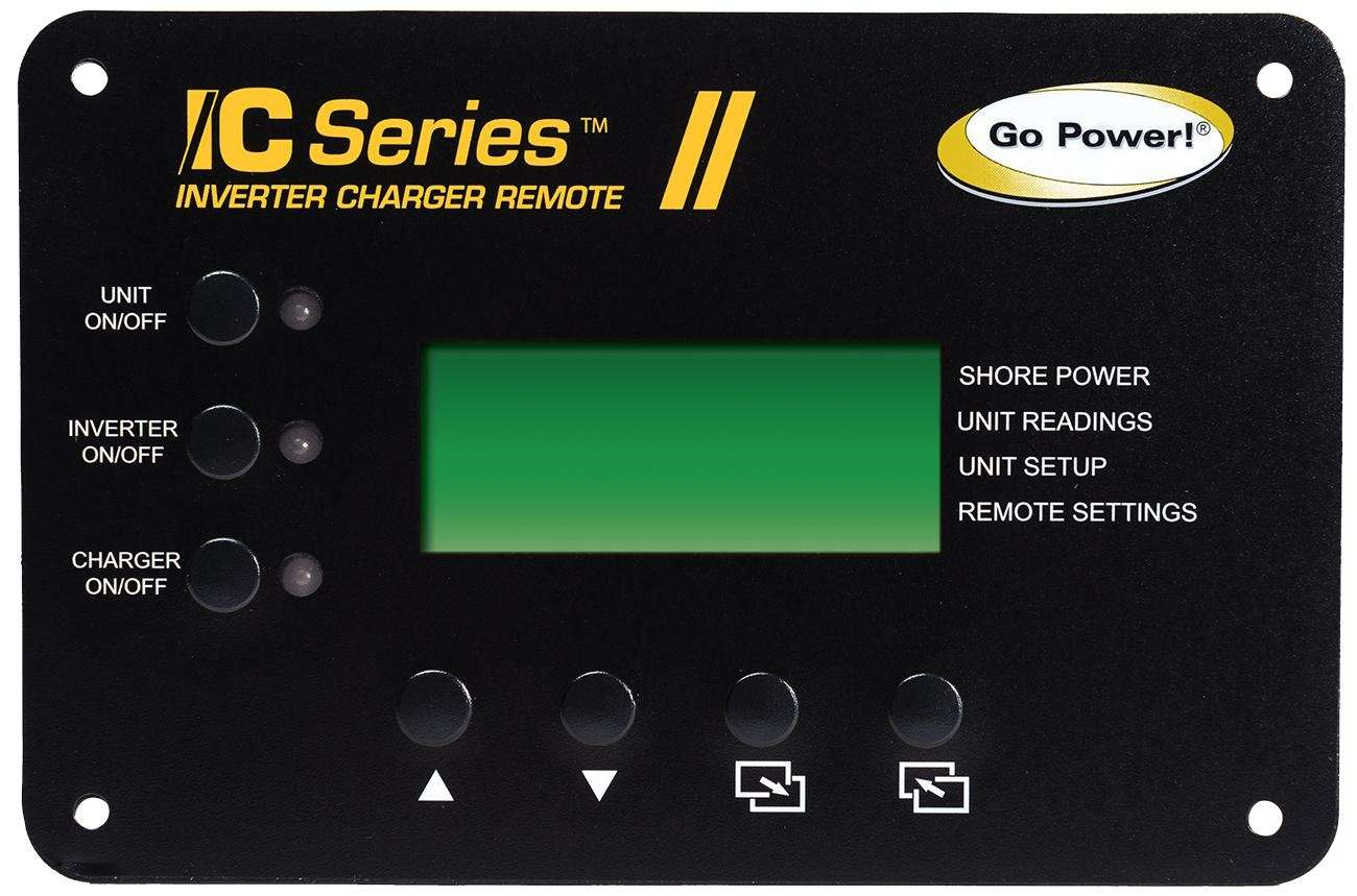 Go Power Gp Icr 50 Inverter Charger Remote Control