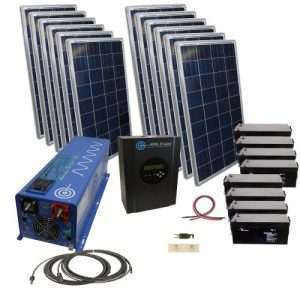 48V Solar Kits Without Rack