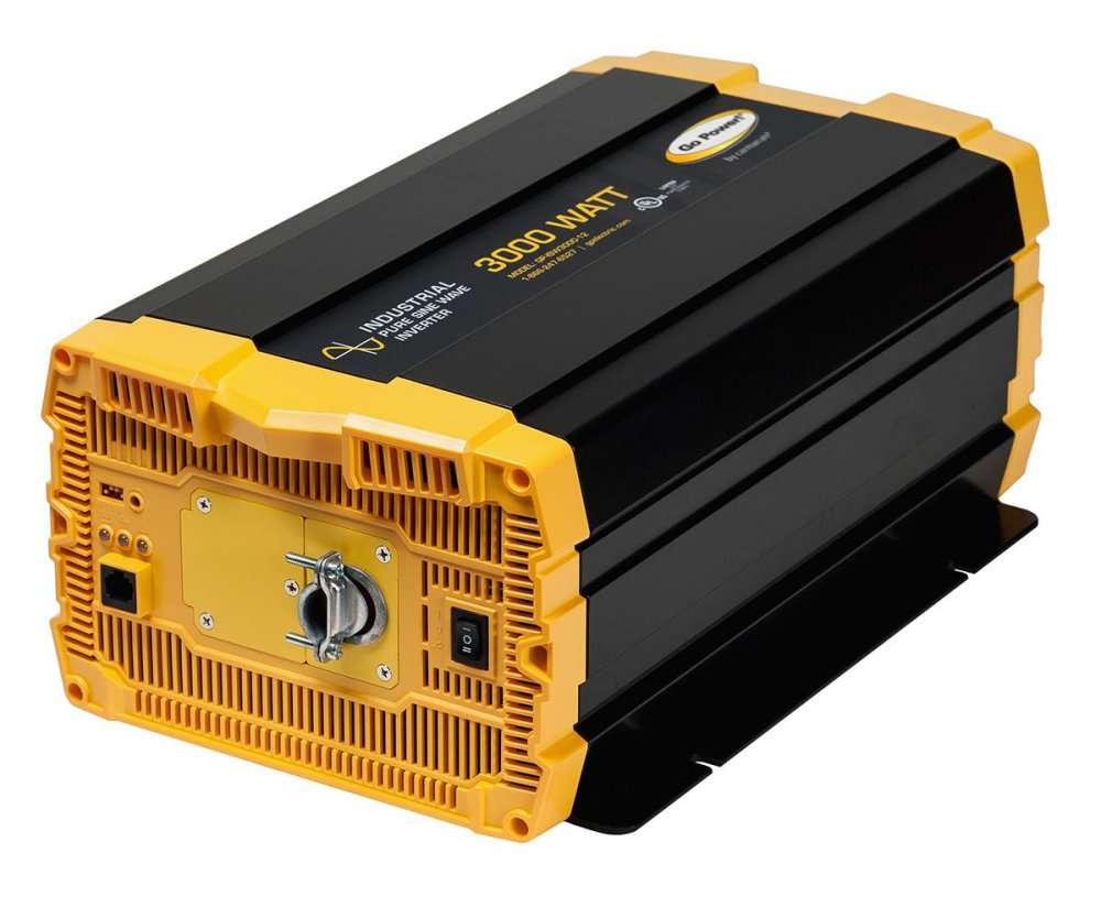 Go Power Gp Isw3000 12 3000 Watt Pure Sine Wave Inverter