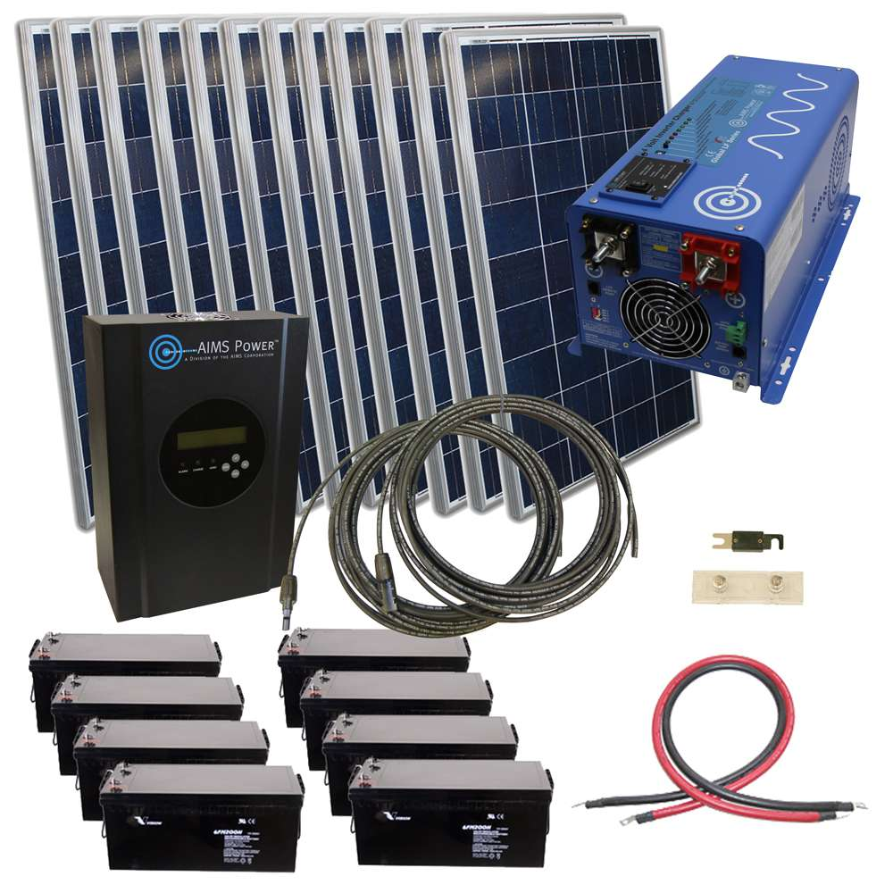 Aims Kitb 2k48120 C1 2880w Solar Kit With 2000 Watt