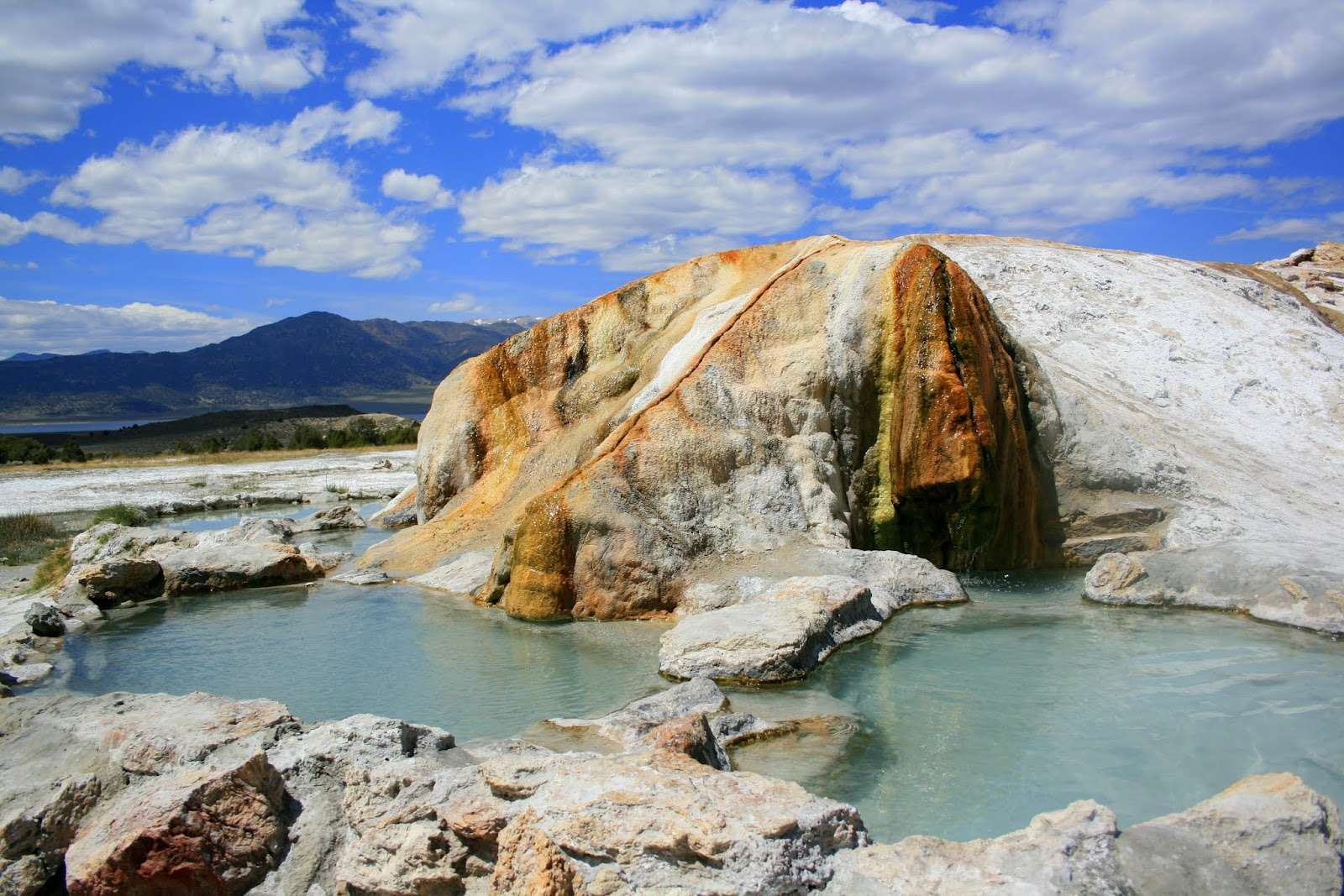 Camping By Hot Springs With Some Comforts Of Home Such As