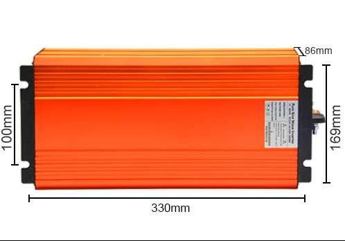 CNBOU B48P2000W1 Size