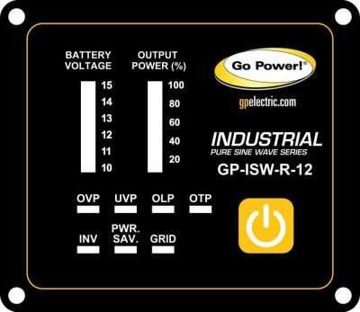 Go Power GP-ISW-R Inverter Remote