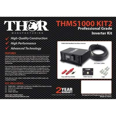 Thor THMS1000 KIT2 Complete Kit