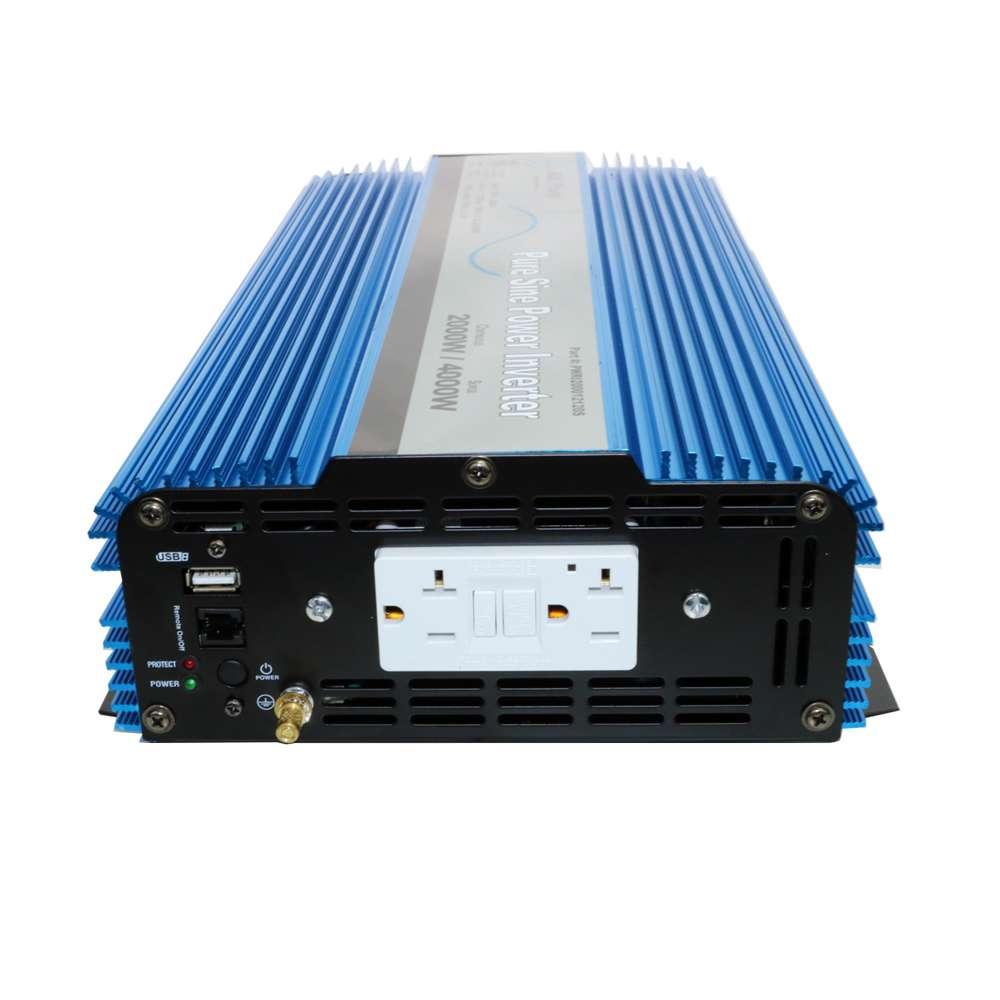 2000 Watt 12v Pure Sine Wave Power Inverter By Aims Pwri200012120s Cotekinverterandbatterybankwiringjpg