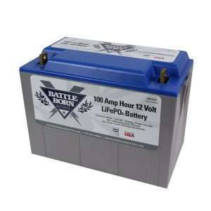 Battle Born Batteries LiFePO4 Lithium Iron Phosphate Battery