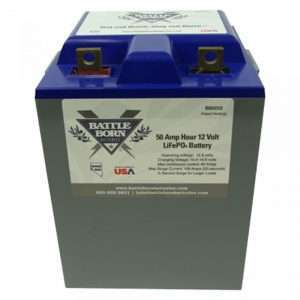 Battleborn BB5012 Lithium Battery