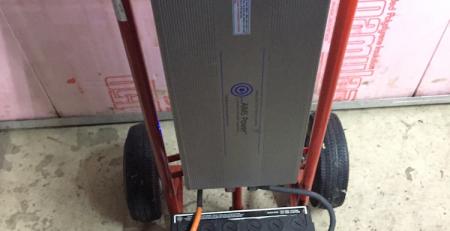 Emergency Mobile Power Inverter Setup