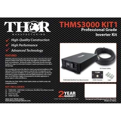 THMS3000KIT1 Thor 3000 Watt Inverter Kit