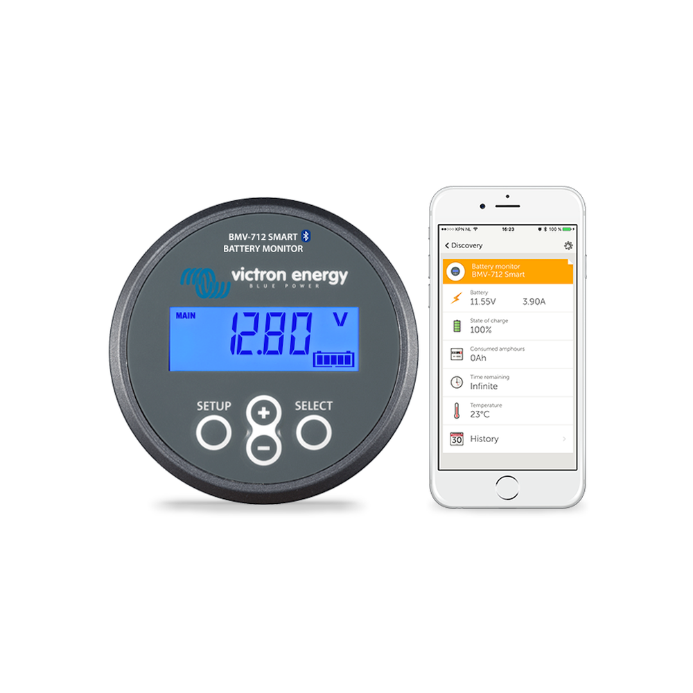Victron Energy BMV-712 Smart Battery Monitor with Bluetooth BAM030712000R