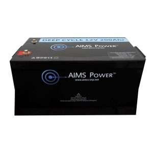 Aims LFP12V200 LiFePO4 Battery