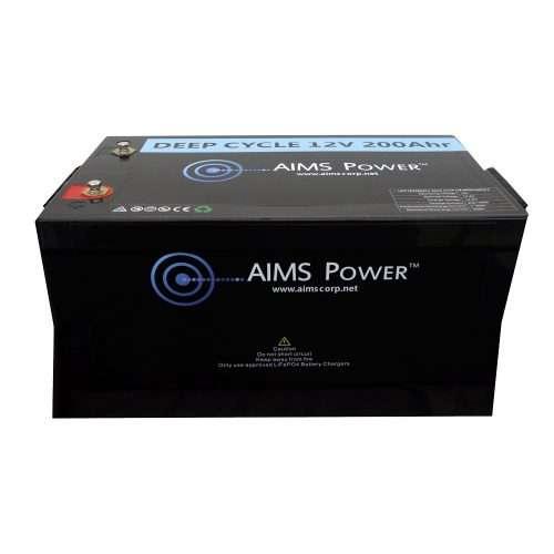 Aims LFP12V200 LiFePO4 Battery
