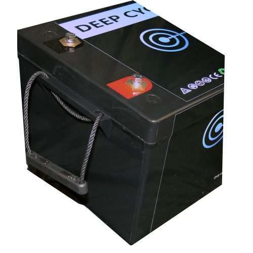 Aims LFP12V200 LiFePO4 Battery Terminals