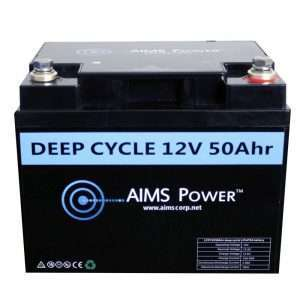 Aims LFP12V50A 50A LifePO4 Battery
