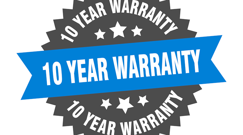 Victron 10 Year Warranty