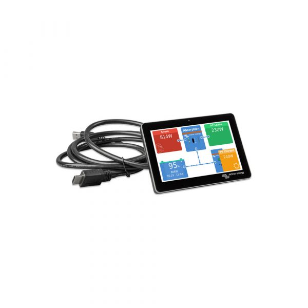 Victron Touch 50 with cable