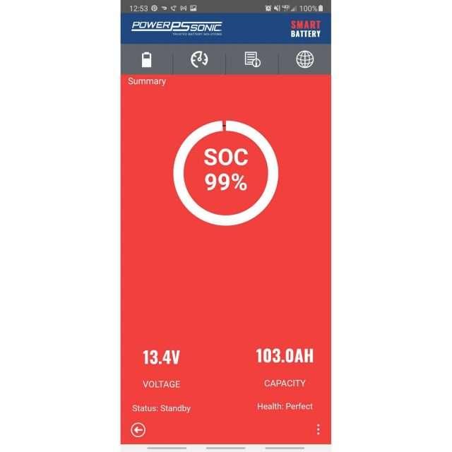 Power Sonic LiFePO4 App