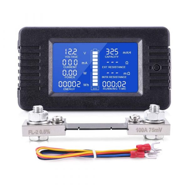 Spartan Power SP-8VM100A Battery Meter